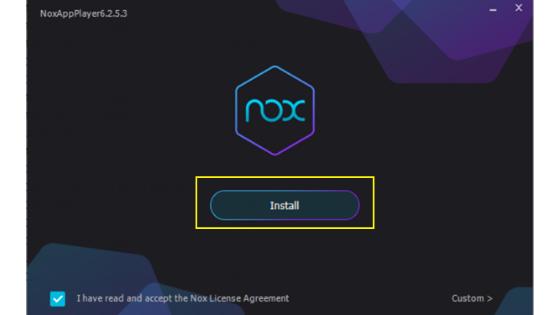 KineMaster on NOX